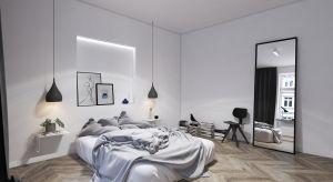 Sypialnia to ulubione miejsce właścicieli. Nieprzypadkowo stała się, więc najbardziej reprezentacyjnym pomieszczeniem. Zachwyca połączeniem minimalizmu i skandynawskiej finezji.