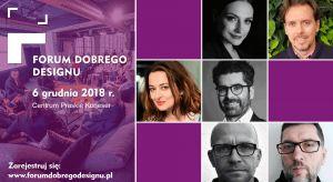 Jedną z sesji dyskusyjnych tegorocznej edycji Forum Dobrego Designu poświęcimy nowym technologiom, rozwiązaniom i materiałom we wnętrzach mieszkalnych i komercyjnych. Przedstawiamy prelegentów i uczestników debaty!
