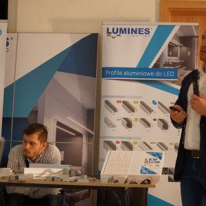 Łukasz Gąsiorek z firmy Lumines Lighting
