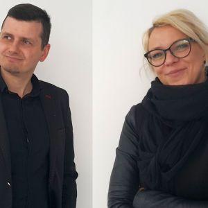 Barbara Uherek-Bradecka i Tomasz Bradecki - architekci i współwłaściciele pracowni Studio BB Architekci.
