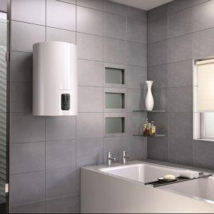 Elektryczne podgrzewacze wody Lydos są wyposażone w technologię WaterPlus, dzięki czemu dostarczają większą ilość ciepłej wody niż standardowe produkty o tej samej objętości. Fot. Ariston