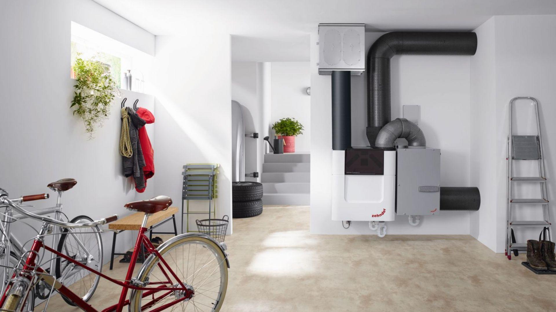 Centralę wentylacyjną nowej generacji Comfo AIR Q600 ST wyróżnia wysoka wydajność, efektywność energetyczna, estetyka i cicha praca. Fot. Zehnder