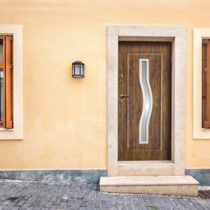 Bezpieczne i komfortowe drzwi zewnętrzne: Radex Ceres. Fot. 4iQ