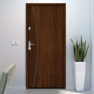 Inteligentny zamek Gerdalocj V3 umożliwia automatyczne otwieranie drzwi za pomocą smartfona lub smartwatcha; bezpieczna szyfrowana transmisja danych. Fot. Gerda