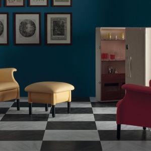 Kultowy fotel Sanluca projektu braci Castiglioni. Fot.  Poltrona Frau /Studio Forma 96