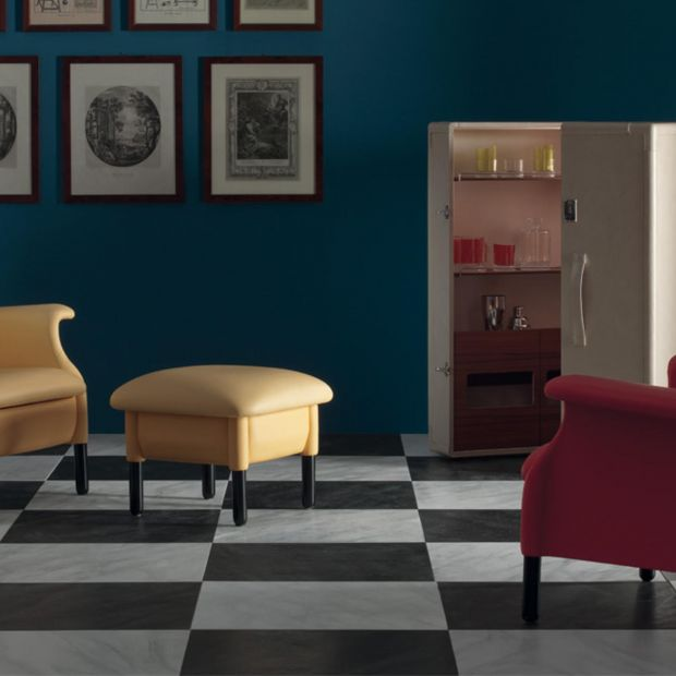 Kultowy fotel Sanluca w nowej odsłonie - z nutą dekadencji