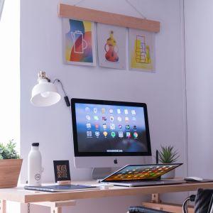 """Biuro w domu. Fot. WPBM """"Mój Dom"""""""