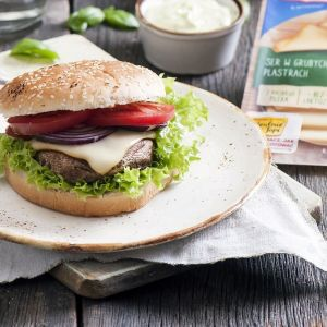 Wegetariańskie burgery. Fot. Hochland