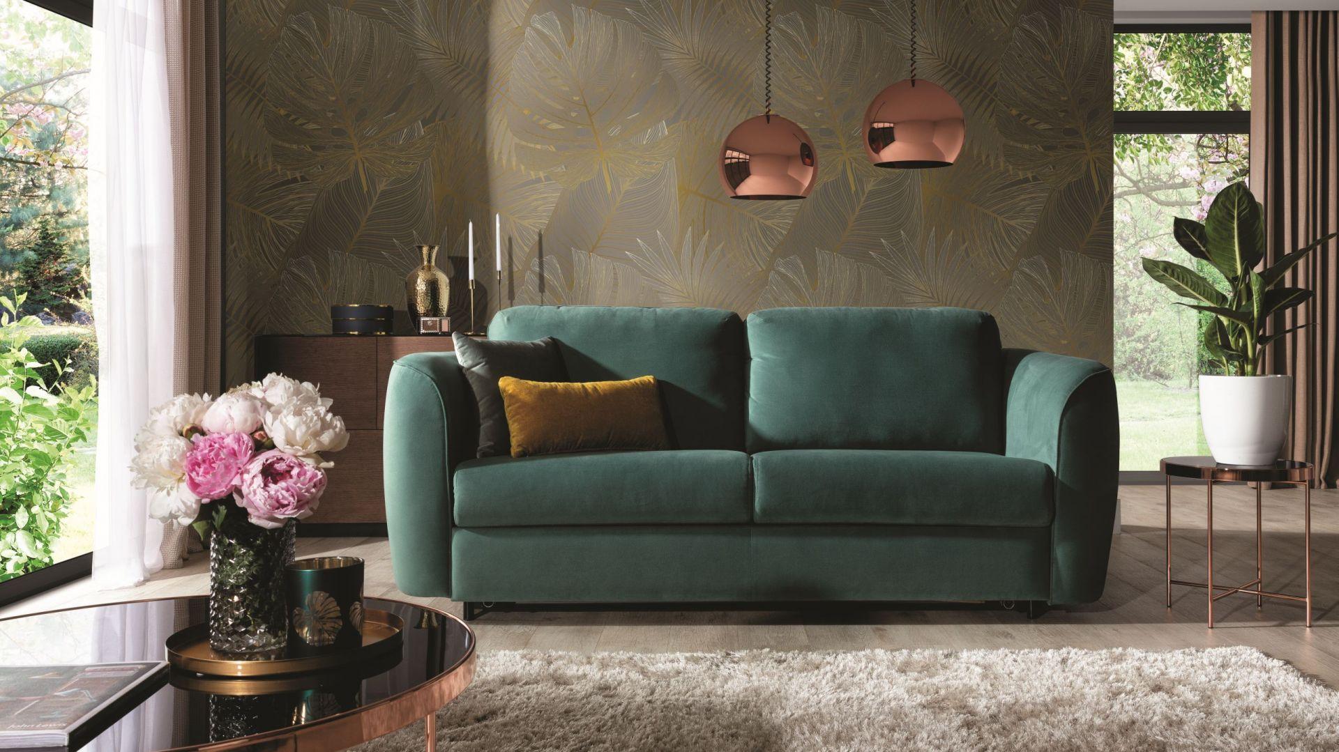 Sofa z funkcją spania Cali łączy design i funkcjonalność. Fot. Wajnert Meble