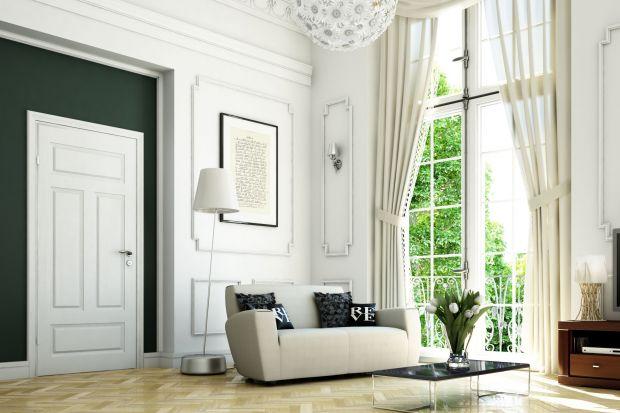 Stylowy salon - 5 propozycji drzwi wewnętrznych