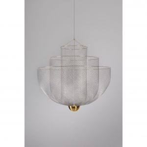 Lampa Meshmatics powstała dla słynnej marki Moooi. Projekt Rick Tegelaar