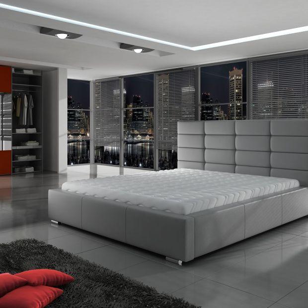Elegancka sypialnia: łóżko tapicerowane w nowoczesnym wydaniu