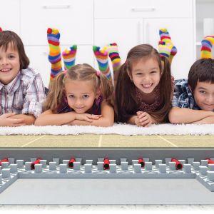 Ogrzewanie podłogowe w pokoju dziecka. Fot. Knauf Therm