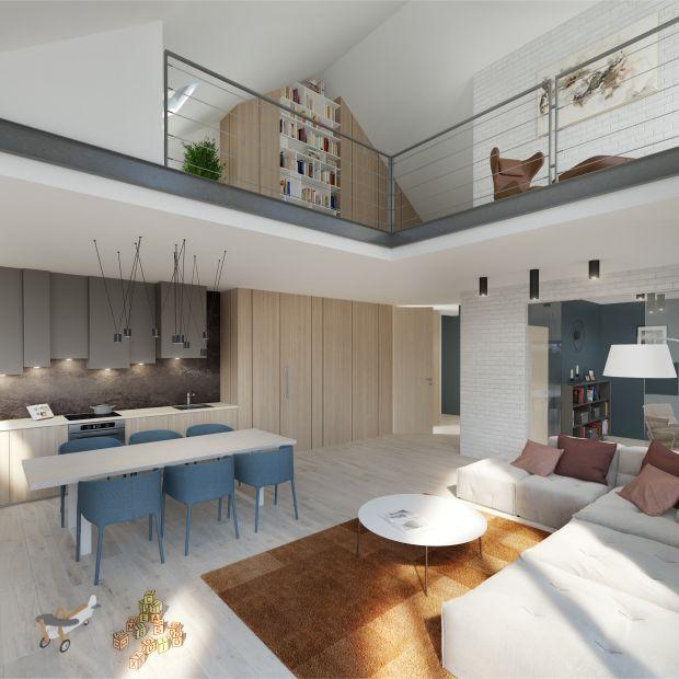 Mieszkanie z antresolą - praktyczny pomysł na wykorzystanie przestrzeni