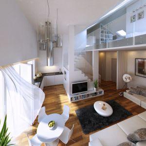 Mieszkanie z antresolą. Domy Pod Koroną. Fot. Allcon