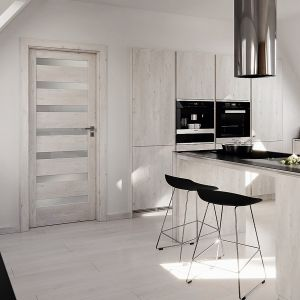 Drzwi z kolekcji Verte marki Porta dostępne są w różnych wersji wykończeń. Fot. Porta 5.