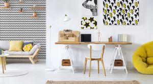 Praca w domu na etacie, czy realizowanie pasji - Twoje domowe biuro lub pracownia mogą stać się ozdobą mieszkania i świetnie zorganizowanym miejscem, w którym panuje twórczy klimat. Zobacz, jak zaaranżować miejsce do pracy w domu, by było funkcj