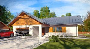 Parterowy dom jednorodzinny o powierzchni użytkowej 136 metrów, z dwustanowiskowym garażem, zapewnia komfort i wygodę 4-osobowej rodzinie.