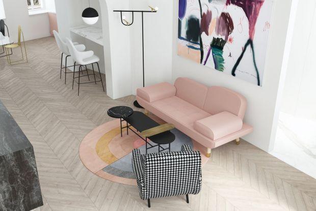 Moskiewski apartament - wnętrze inspirowane sztuką