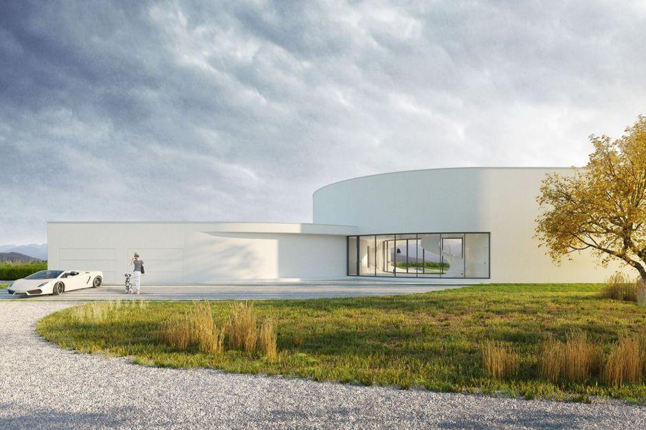 Dom Y - niebanalna forma budynku otwartego na ogród