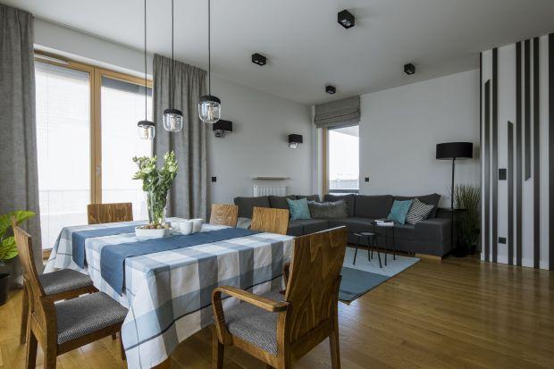 Rodzinne wnętrze: zobacz wygodne i nowoczesne mieszkanie