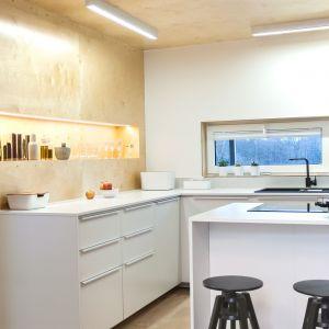 Apartament w sklejce. Proj. Artes Design i SZARA/studio