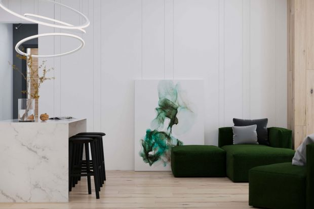 Wszystko na swoim miejscu: piękne, minimalistyczne wnętrze