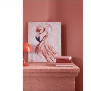 Róż Flamingo kolorem roku 2019. Fot. Tikkurila