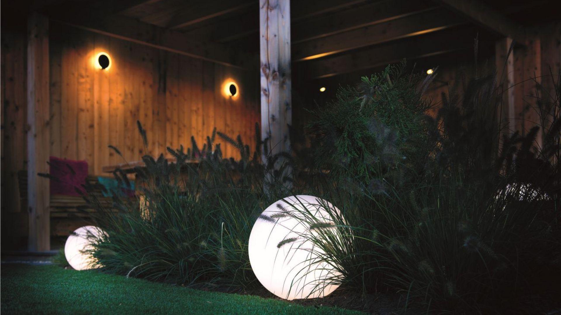 Oświetlenie ogrodowe - zasady aranżacji. Fot. Libet