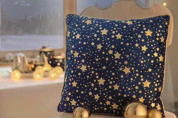 Złoto i granat: idealne kolory na Święta Bożego Narodzenia