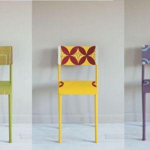 Krzesło jak z domu artystycznej bohemy. Fot. Annie Sloan