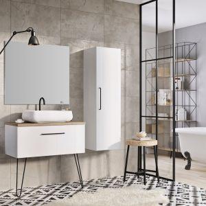 Aranżacja łazienki - nowoczesne meble łazienkowe.  Kolekcja  Futuris. Fot. Elita