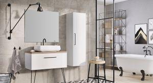 Meble łazienkowe w zestawieniu z nowoczesnymi płytkami ceramicznymi powinnytworzyć stylistyczną całość. Do nich dobieramy też ceramikę i armaturę. Poza designem ważny jest też komfort użytkowania szafek.
