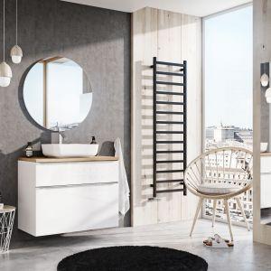 Aranżacja łazienki - nowoczesne meble łazienkowe.  Kolekcja Lofty. Fot. Elita