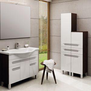 Aranżacja łazienki - nowoczesne meble łazienkowe. Fot. Devo