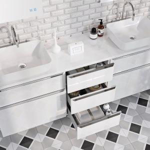 Kolekcje mebli łazienkowych Lofty. Fot. Elita