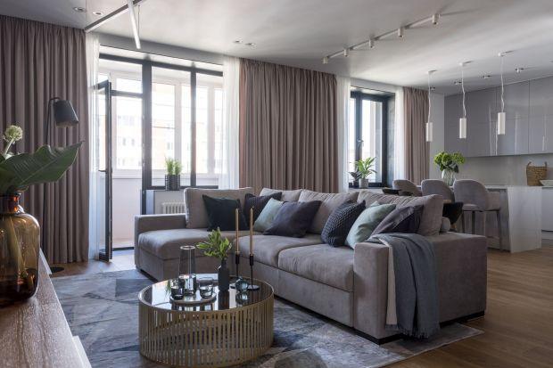 Nowocześnie i przytulnie - rodzinny apartament