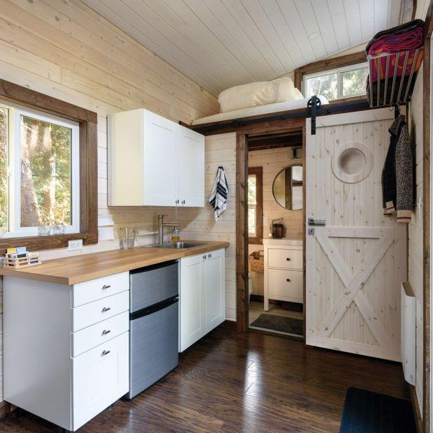 Styl loft - drewno podkreśli charakter wnętrza