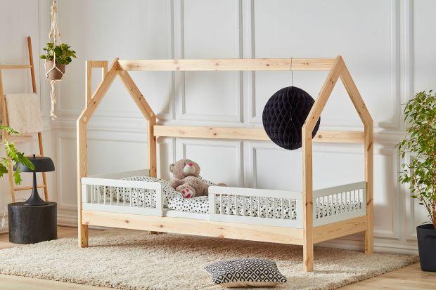 Nowość do pokoju dziecka - łóżko jak domek