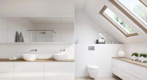 Minimalistyczne formy, uniwersalna kolorystyka i wieloelementowe zestawy mebli to połączenie, które pozwoli z łatwością stworzyć funkcjonalną i stylową łazienkę.