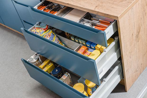 Przechowywanie w kuchni - wygodna strefa zapasów