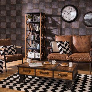 Skórzane meble i dodatki: sofa Ariane. Fot. Westwing