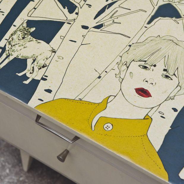 Kobiecy design - wzornictwo, sztuka, renowacja mebli
