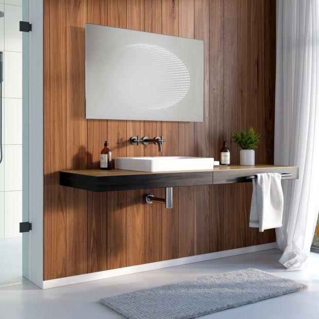 Stylowa łazienka: pomysł na lustra z klasą