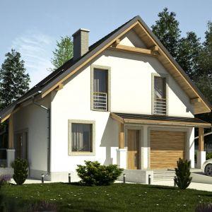 Projekty typowe, trochę na przekór swojej nazwie, oferują nam szeroki wybór różnorodnych stylistycznie domów. Dom Turkawka 2 (A). Projekt: Dom Dla Ciebie – Pracownia Projektowa Archeco