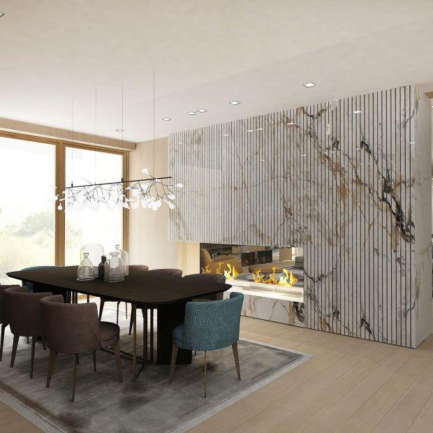 Przestrzenna harmonia: zobacz modernistyczne wnętrze domu