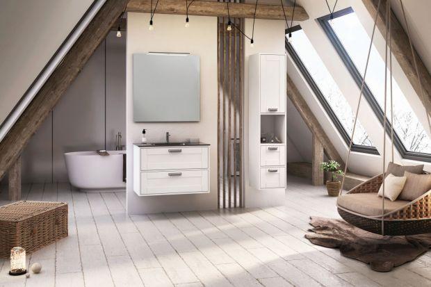Łazienka ocieplona drewnem - 5 dobrych pomysłów