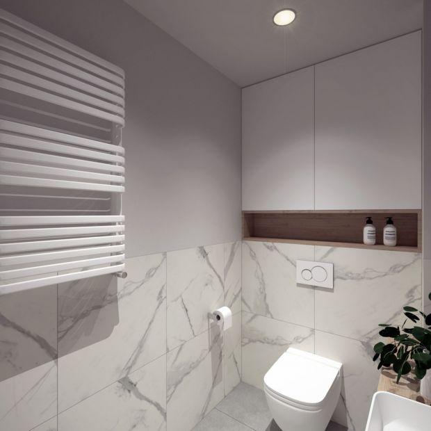Grzejnik w łazience - wyposażenie w projekcie wnętrza