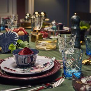 Aranżacja jadalni - magiczna oprawa stołu na święta - Kolorowy blask. Fot. IKEA