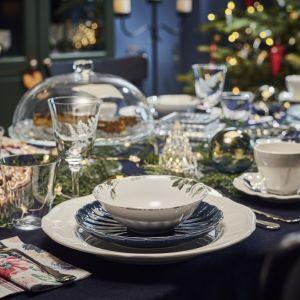 Aranżacja jadalni - magiczna oprawa stołu na święta - Elegancki eklektyzm. Fot. IKEA